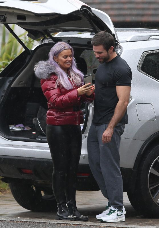 Kerry Katona - Out in Crowborough, Sussex 10/06/2018