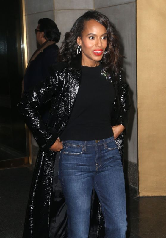 "Kerry Washington at the ""Today"" Show in NYC 10/29/2018"