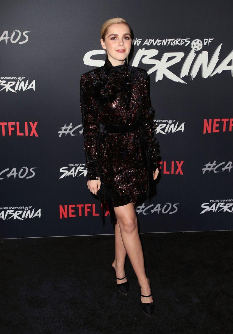 Kiernan Shipka The Chilling Adventures Of Sabrina