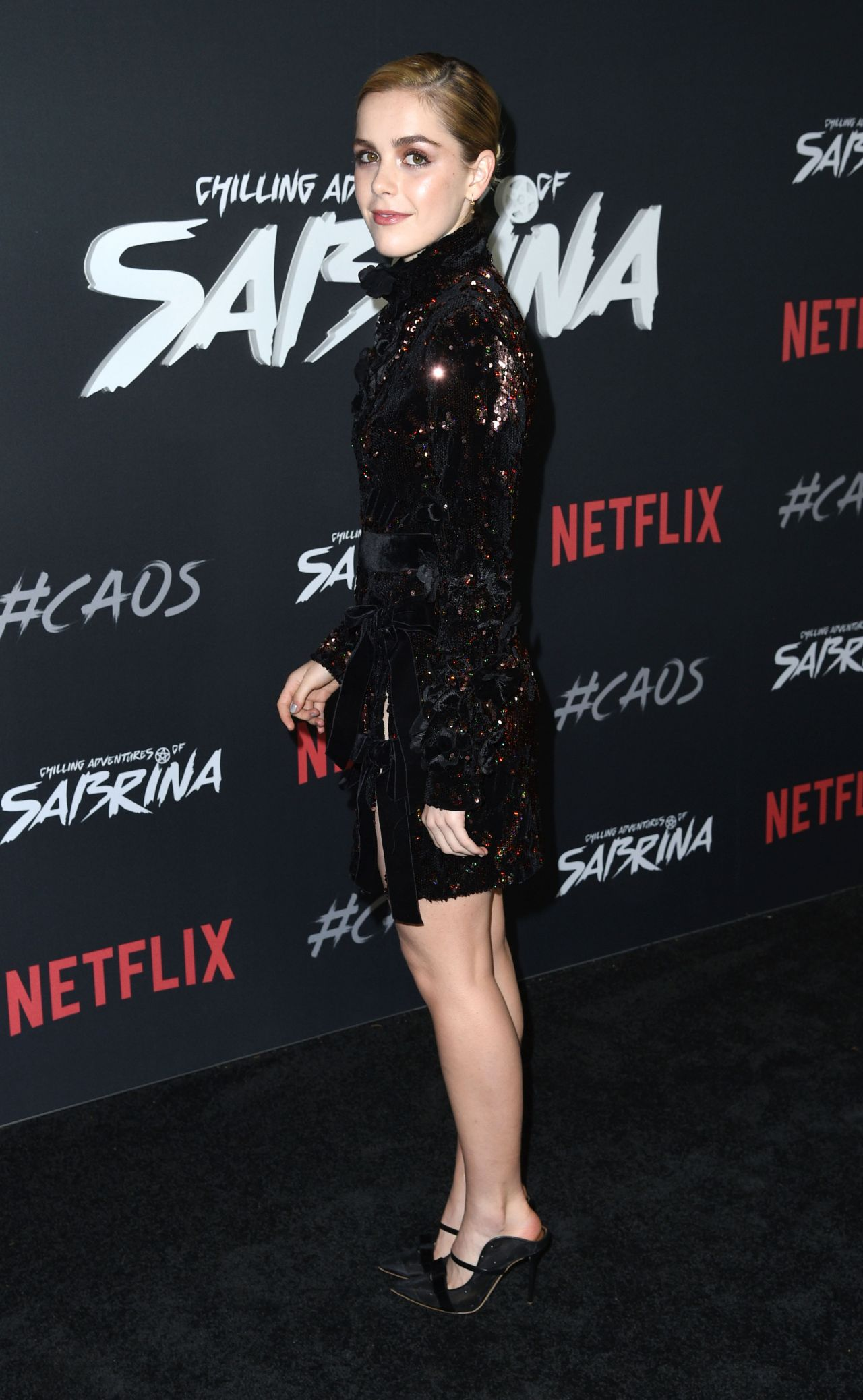 Kiernan Shipka The Chilling Adventures Of Sabrina
