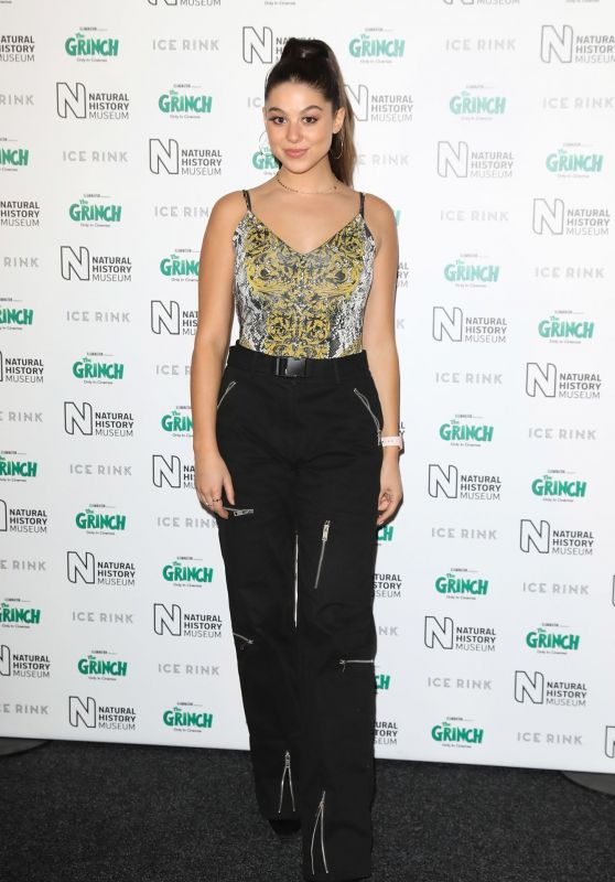 Kira Kosarin - The Natural History Museum Ice Rink VIP Launch Night in London