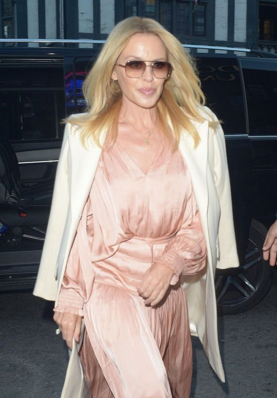 Kylie Minogue - Arriving at The London Palladium 10/22/2018