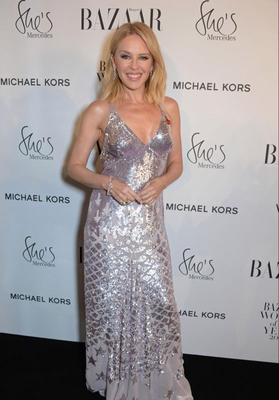 Kylie Minogue – Harper's Bazaar Women Of The Year Awards 2018