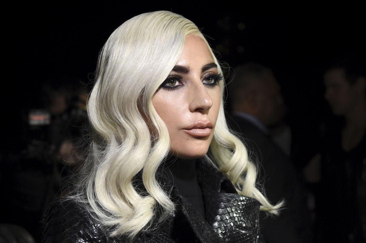 Lady Gaga: Lady Gaga At The Celine Fashion Show In Paris, September 2018