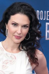 "Laura Mennell - ""Project Blue Book"" Photocall at MIPCOM in Cannes"