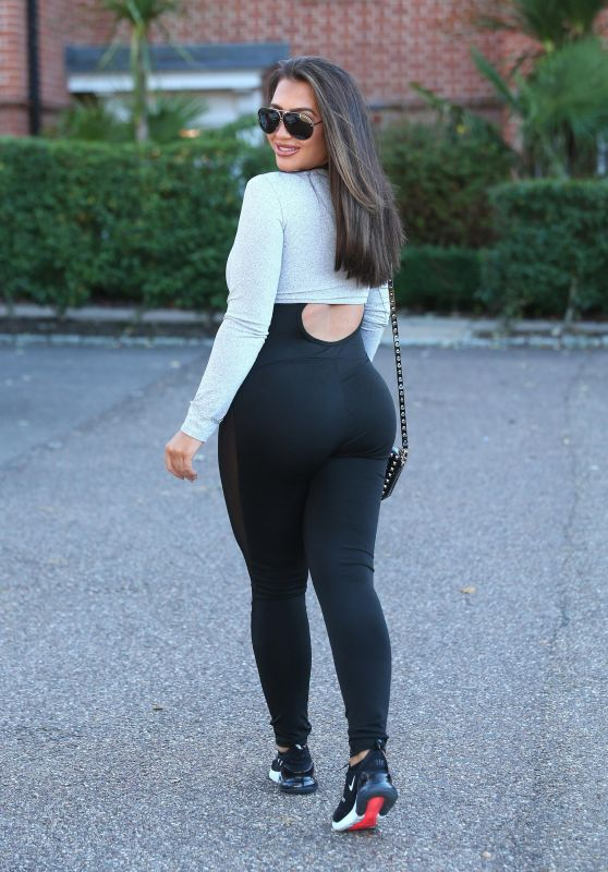 Lauren Goodger - Out For Lunch in Brentwood 10/10/2018