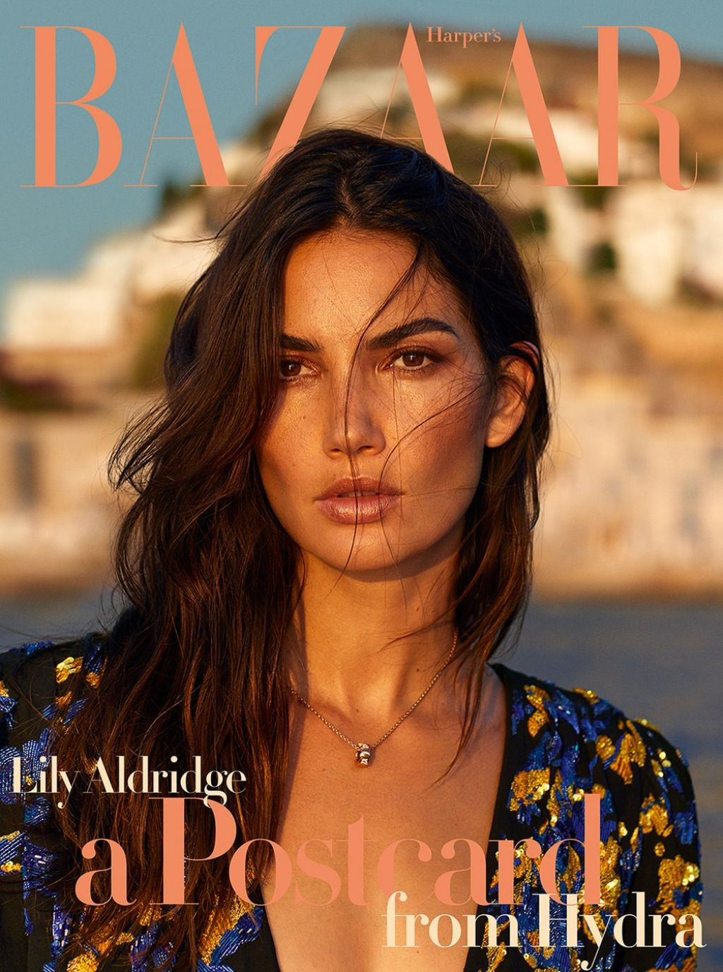 Lily Aldridge Harper S Bazaar Greece October 2018