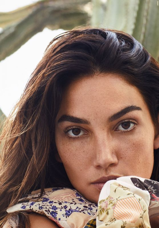 Lily Aldridge - Harper's Bazaar Greece October 2018