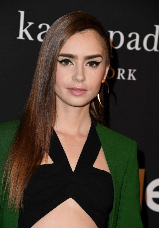 Lily Collins – 2018 InStyle Awards