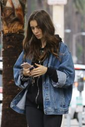 Lily Collins - Running Errands in Los Angeles 10/13/2018