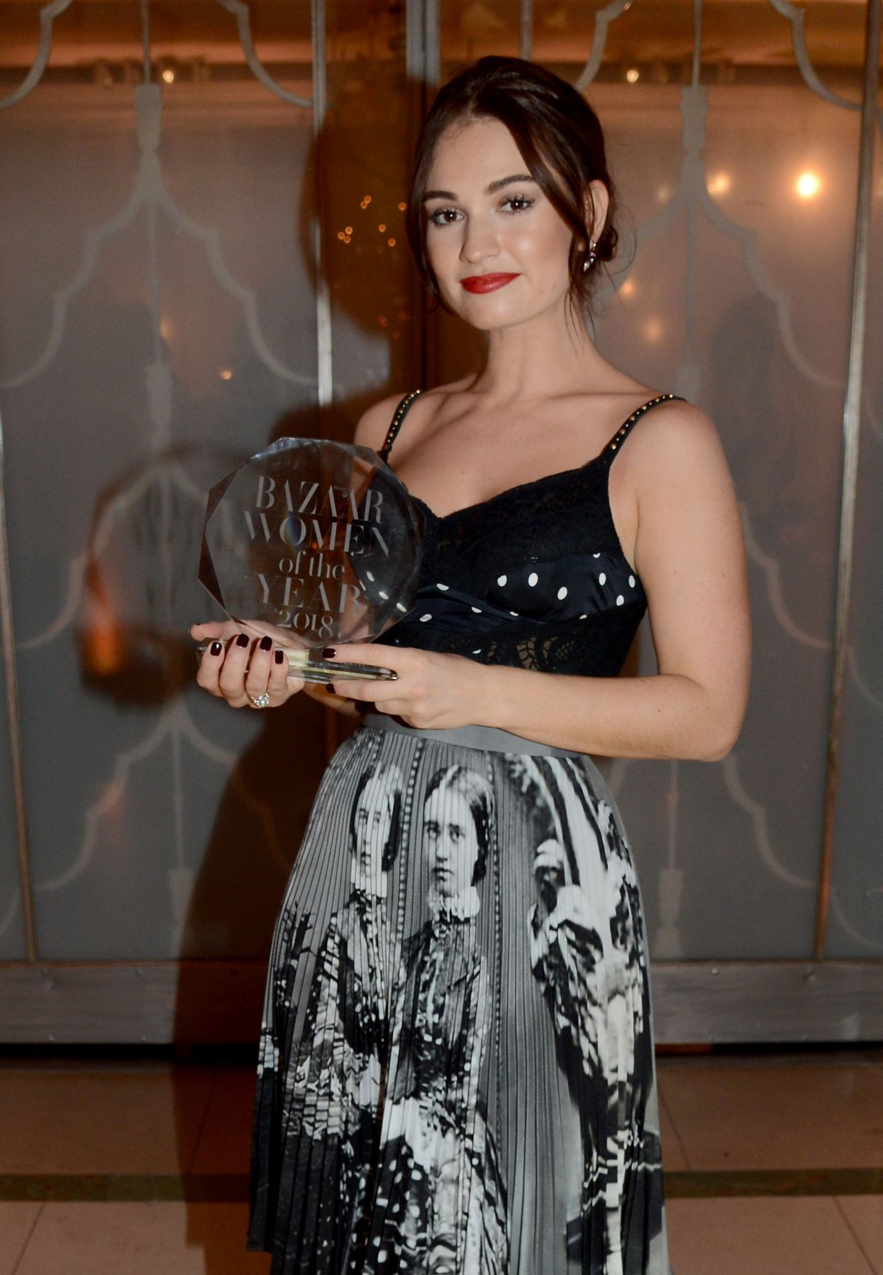 https://celebmafia.com/wp-content/uploads/2018/10/lily-james-harper-s-bazaar-women-of-the-year-awards-2018-2.jpg