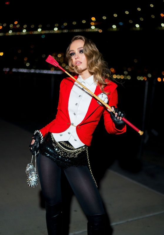Lily-Rose Depp - V Magazine & Chanel Halloween Party in NY 10/26/2018