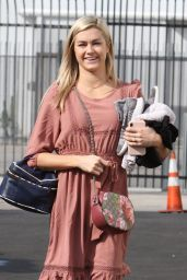 Lindsay Arnold Cute Street Style - Heading to the DWTS Studio in LA 10/28/2018