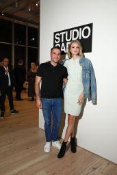 Lindsay Ellingson - CFDA Vogue Fashion Fund Design Challenge in New York 10/17/2018