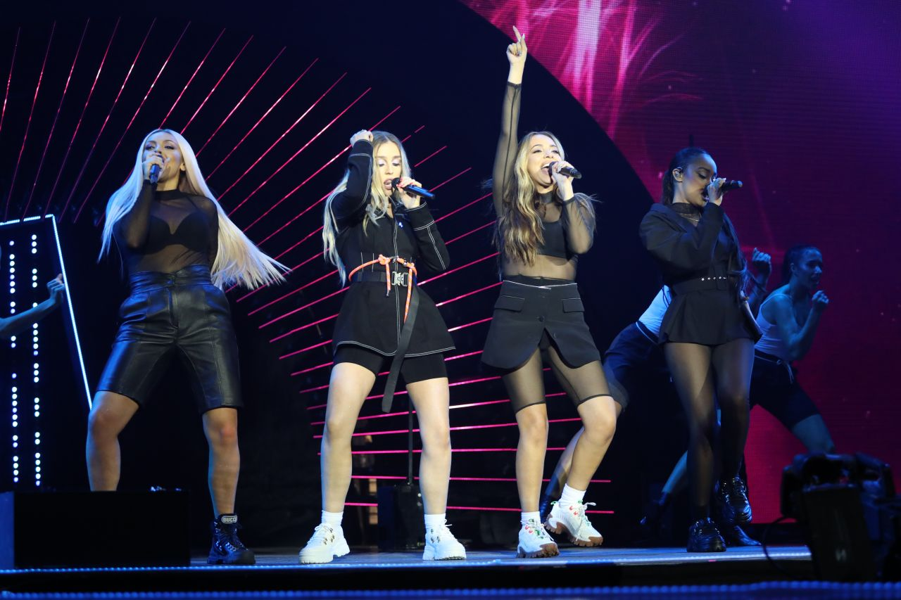 Little Mix Performs At Bbc Radio 1 Teen Awards In London-7352
