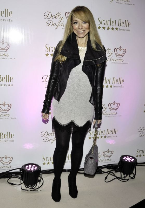 Liz McClarnon – Scarlet Belle Daydreams Luxury Salon and Spa Launch Party in Liverpool