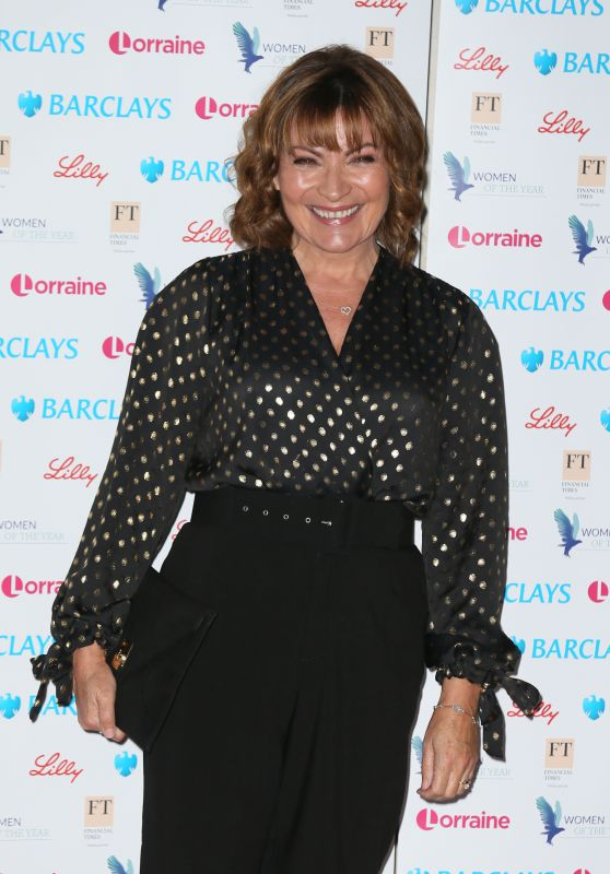 Lorraine Kelly - The Women of the Year Lunch and Awards in London 10/15/2018