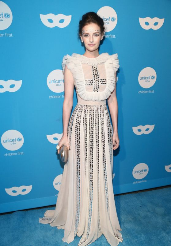 Lydia Hearst – 2018 UNICEF Masquerade Ball in Los Angeles