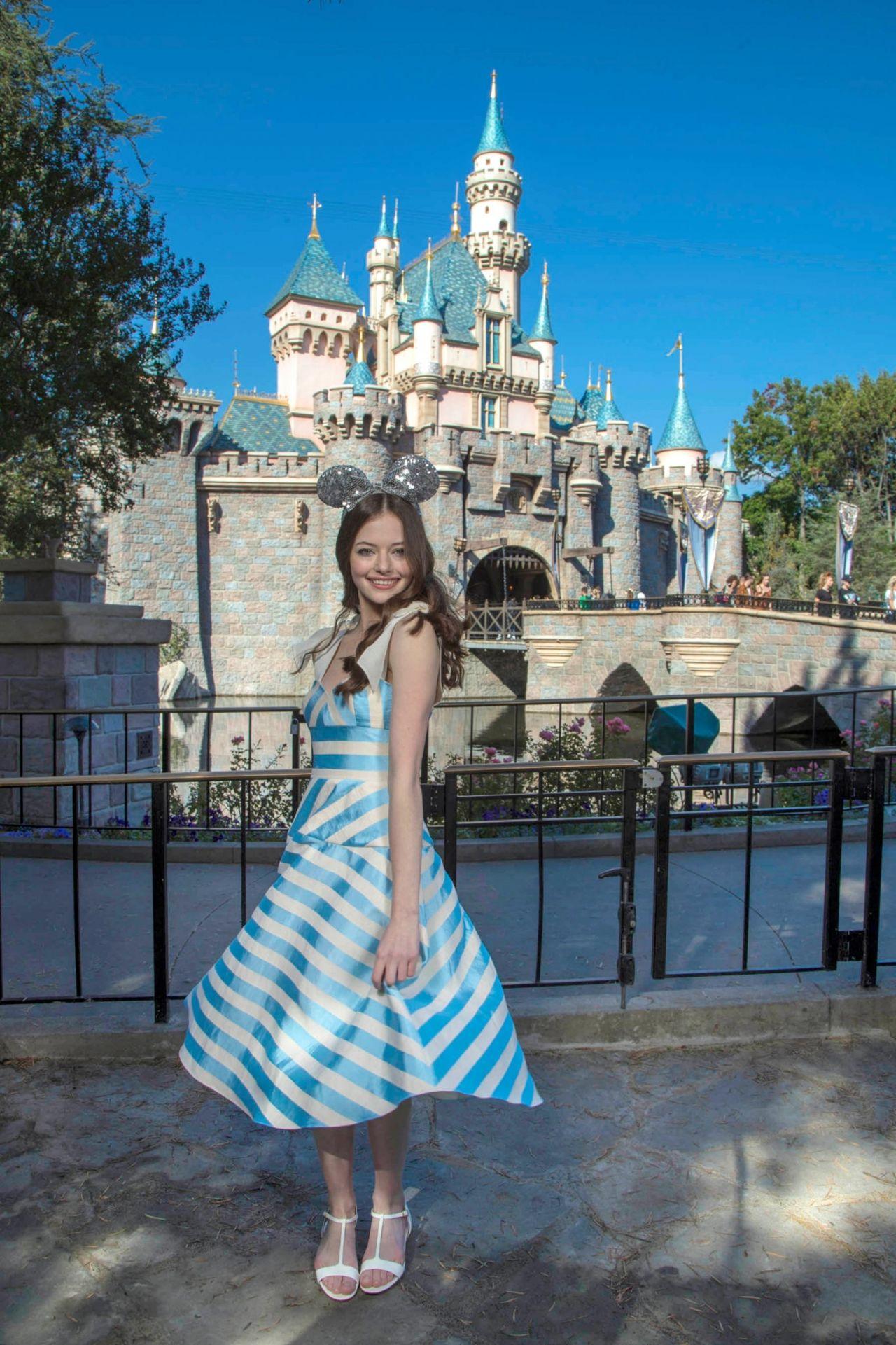 Mackenzie Foy At Disneyland In Anaheim 10 04 2018