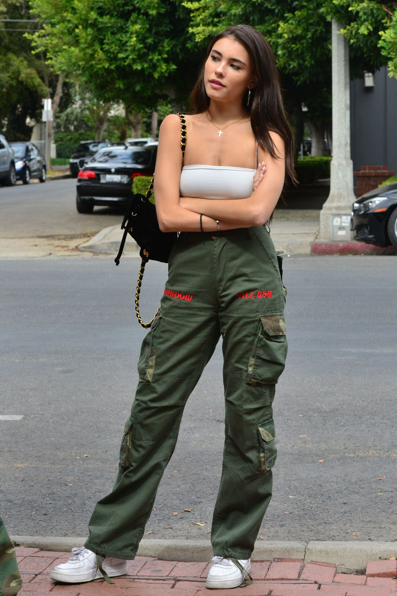 4ff2515fcac2 Madison Beer Urban Street Style - West Hollywood 10/02/2018