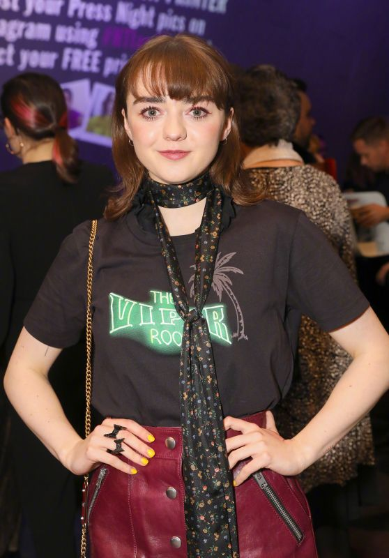 "Maisie Williams - ""I and You"" Press Night in London"