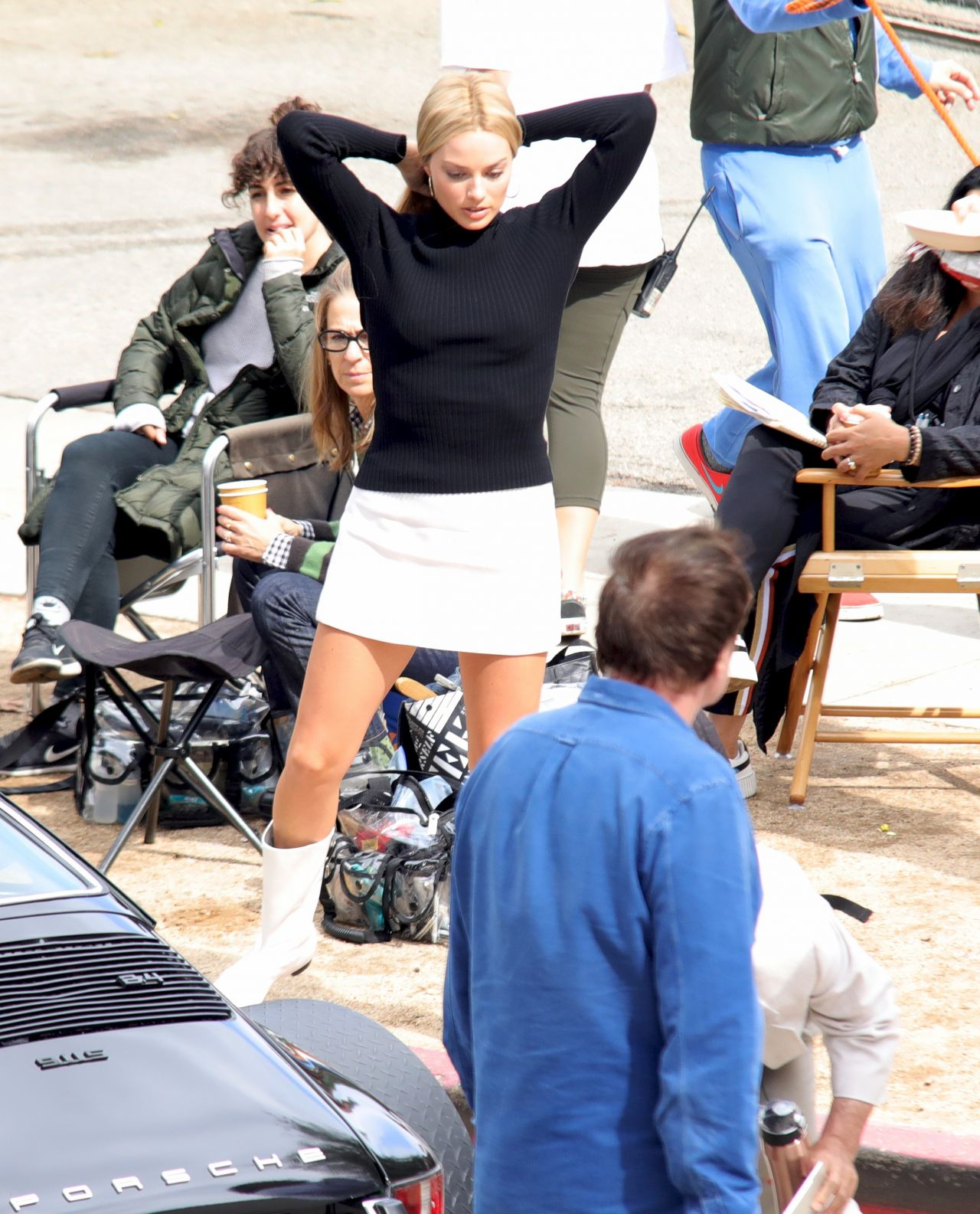 """Once Upon A Time In Hollywood: """"Once Upon A Time In Hollywood"""" Set 10/14/2018"""