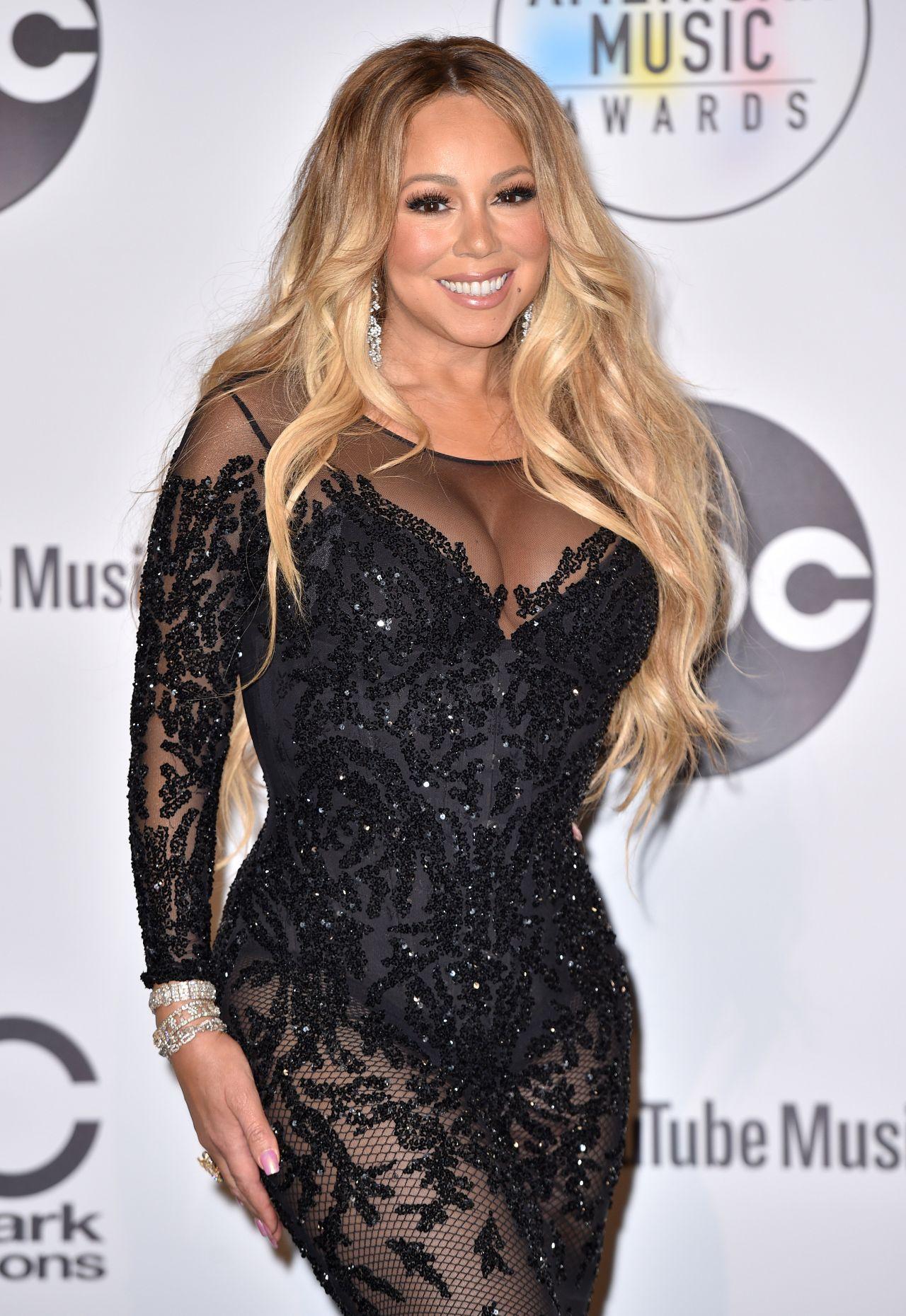 Mariah Carey 2018 American Music Awards In Los Angeles
