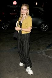 Meg Donnelly at the The Grove in LA 10/01/2018