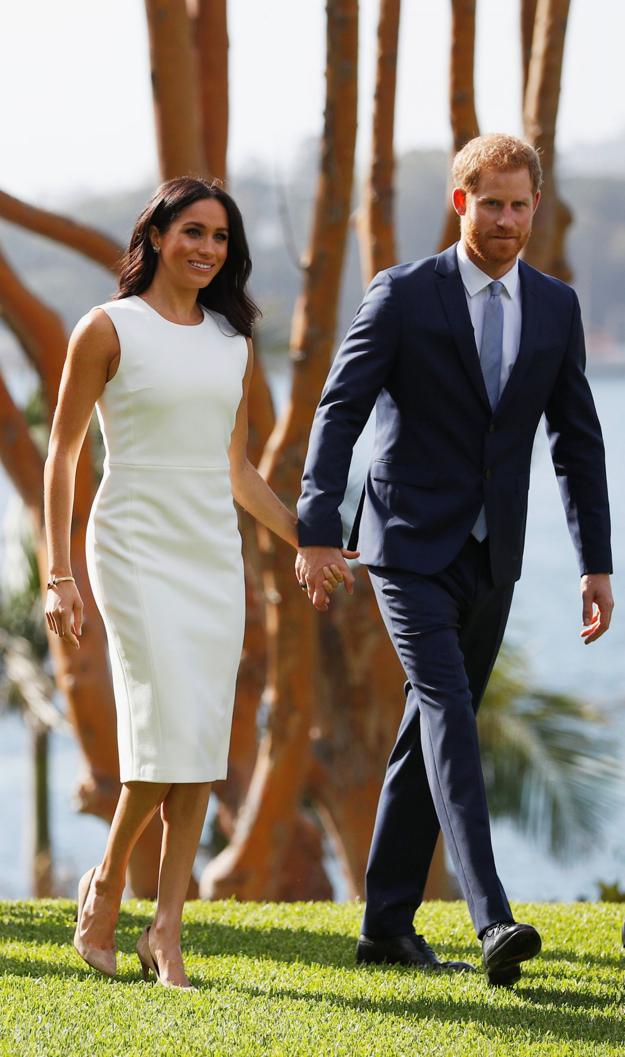 Meghan Markle And Prince Harry Admiralty House In Sydney