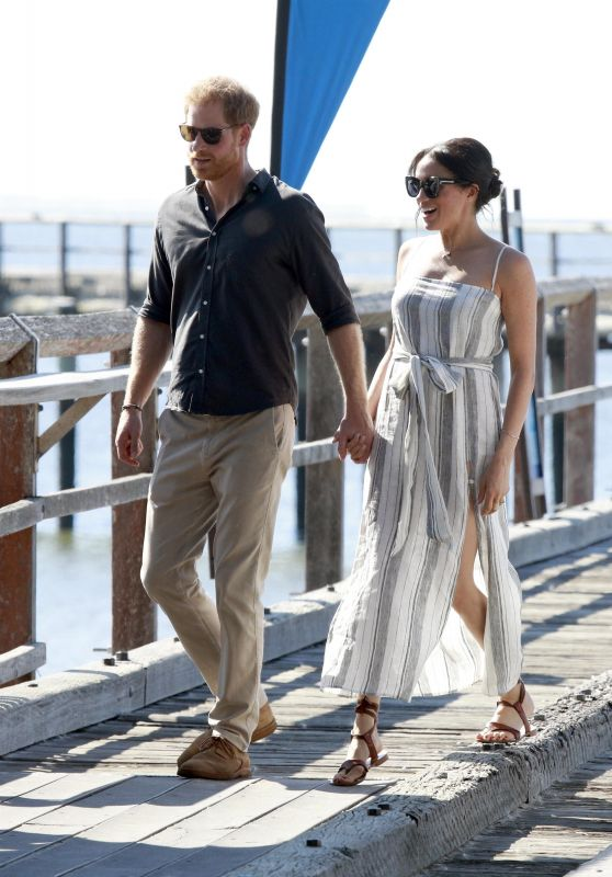 Meghan Markle and Prince Harry at Kingfisher Bay on Fraser Island, Australia 10/21/2018