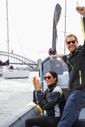Meghan Markle and Prince Harry Sailing Trails in Sydney 10/21/2018