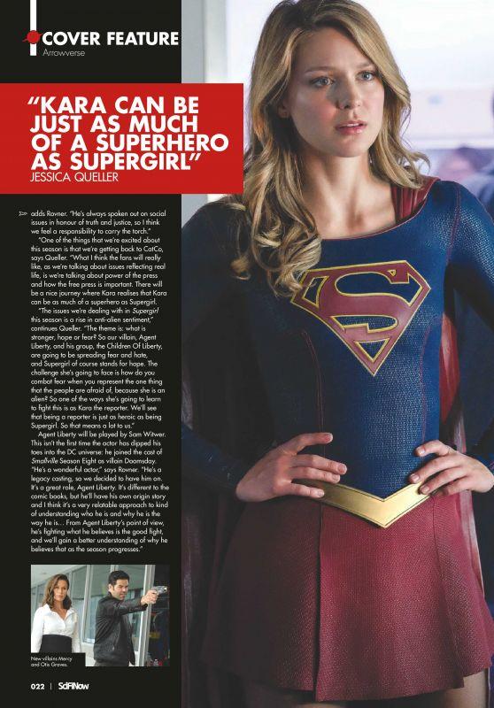 Melissa Benoist - SciFiNow Issue 151, 2018