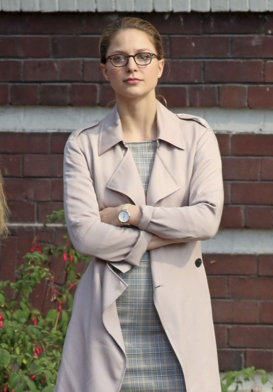 "Melissa Benoist - ""Supergirl"" Set in Vancouver 10/29/2018"