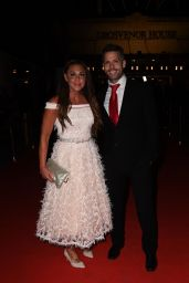"""Michelle Heaton – """"Float Like a Butterfly"""" Ball at Aid of Caudwell Children in London 10/19/2018"""