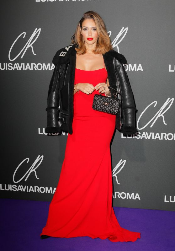 Nabilla Benattia – CR Fashion Book x Luisaviaroma Party at PFW in Paris 10/01/2018