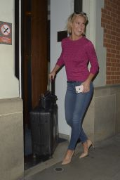 Natalie Lowe - Strictly Come Dancing: It Takes Two Filming in London 10/01/2018