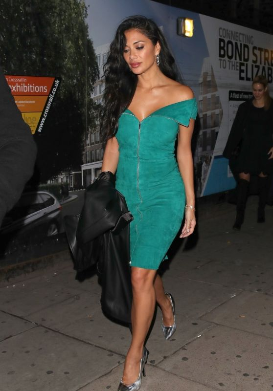 Nicole Scherzinger Night Out Style 10/27/2018