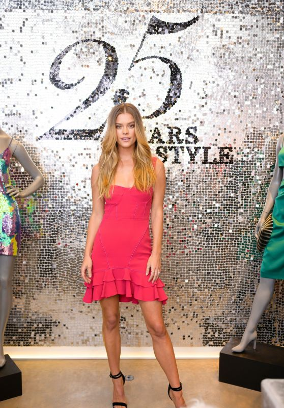 Nina Agdal - Intermix 25th Anniversary Party in New York