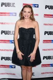 Olivia Gilliatt – Opening Night of Mother of the Maid at Public Theater in NY
