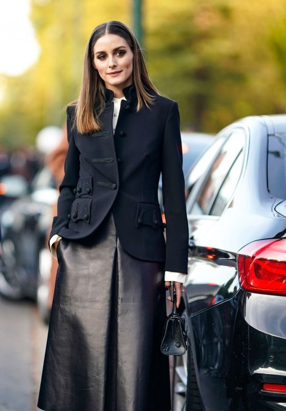 Olivia Palermo Style and Fashion - Out in Paris 09/29/2018