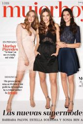 Palvin Barbara, Estella Boersma and Sonia Ben Ammar - Mujer Hoy October 2018 Issue