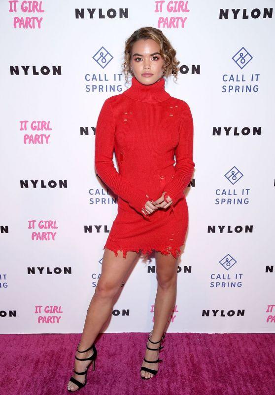 Paris Berelc – NYLON's Annual It Girl Party in LA 10/11/2018