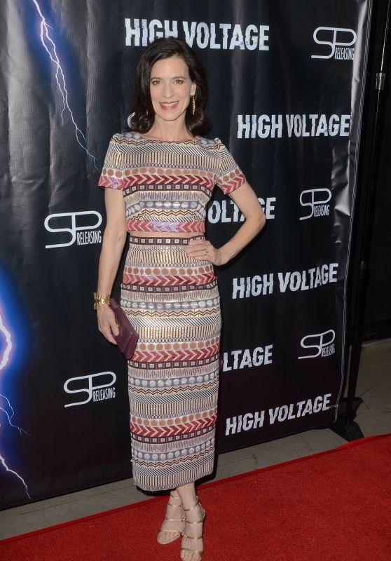 "Perrey Reeves – ""High Voltage"" Premiere in LA"