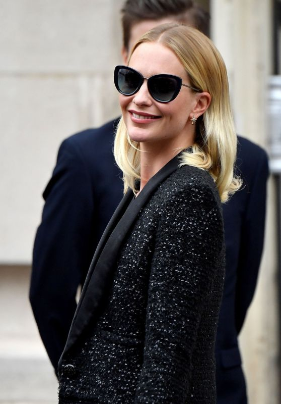 Poppy Delevingne at Chanel Show in Paris 10/02/2018