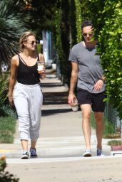 Radha Mitchell - Out in West Hollywood 10/08/2018