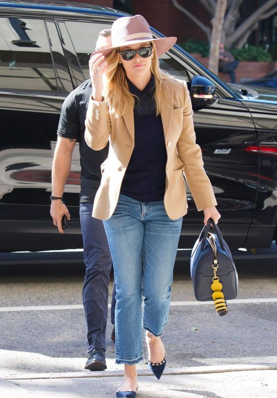 Reese Witherspoon - Arriving for a Meeting in Brentwood 10/16/2018