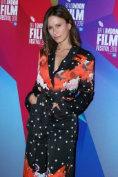 """Rhona Mitra - """"The Fight"""" Premiere at the 62nd BFI London Film Festival"""