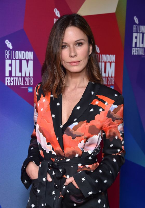 "Rhona Mitra - ""The Fight"" Premiere at the 62nd BFI London Film Festival"