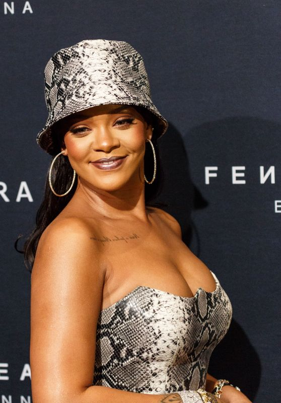 Rihanna - Fenty Beauty by Rihanna Anniversary Event in Sydney 10/03/2018