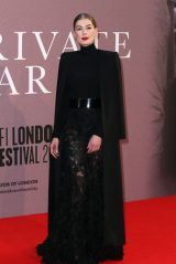 "Rosamund Pike - ""A Private War"" Premiere at BFI London Film Festival"